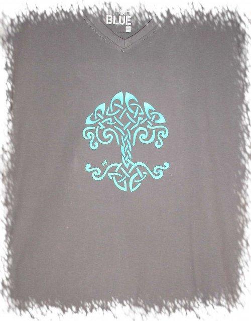 triko s irským motivem pro velkého chlapa