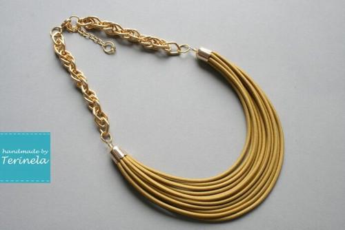 Náhrdelník Luxury GOLD ♥ © design Terinela