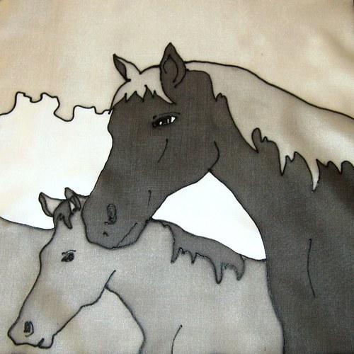 Koně 40x150cm