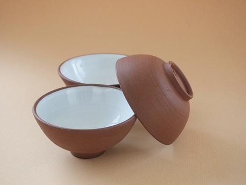MISKA čajová - režná tmavá - 3 kusy