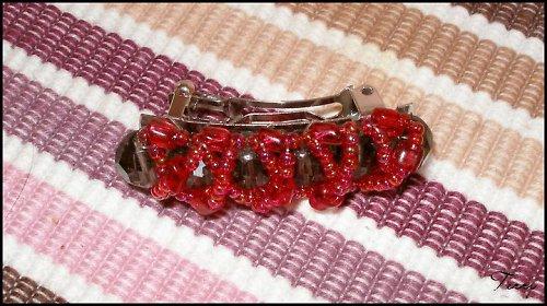 Červená housenka