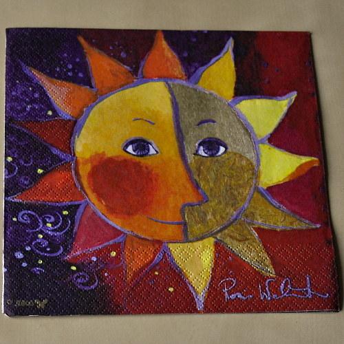 Ubrousek - Slunce