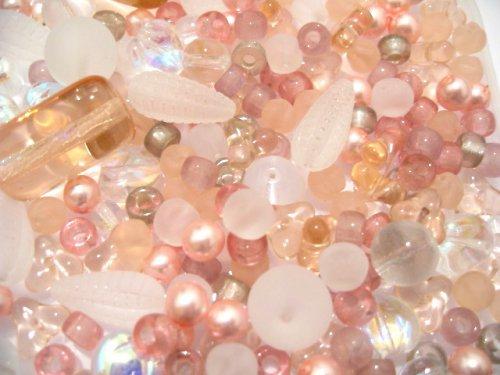 1500007/Mix krystal a růžová mačkanice, 15g