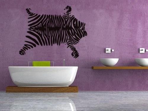 samolepka zebra 150x120cm
