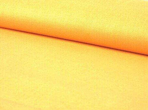 Látka BAVLNA jednobarevná ŽLUTÁ ATEST DĚTI á 0,5m