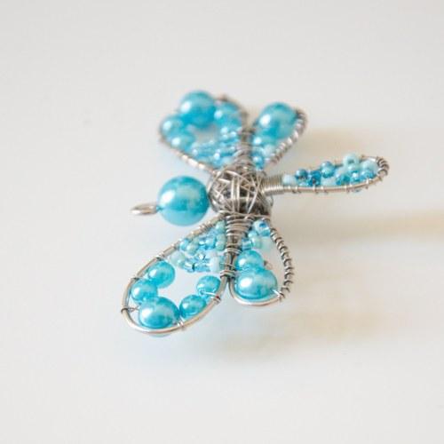 Mini modrá