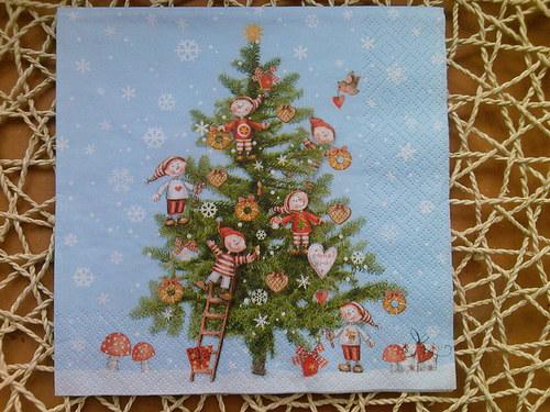 Ubrousek vánoční