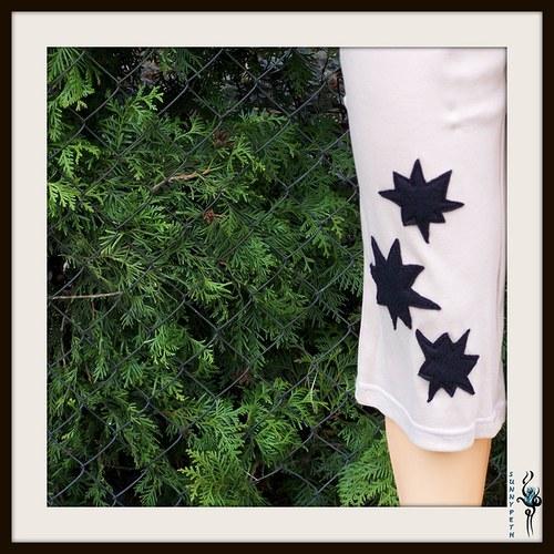 """Dámské pyžamo ,,Black Star\"""" -VÝPRODEJ"""