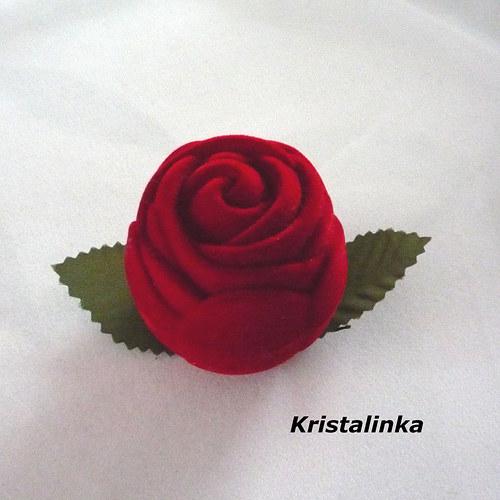 Krabičky.... květy růží