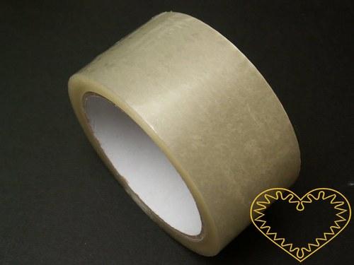 Průhledná lepící páska PP - š 48 mm, d 66 m