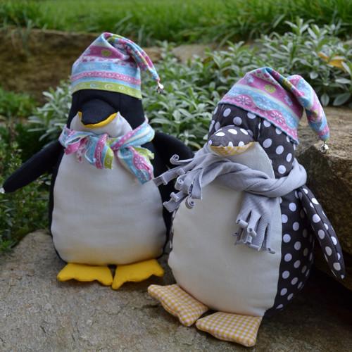 Fotonávod na hračku tučňák