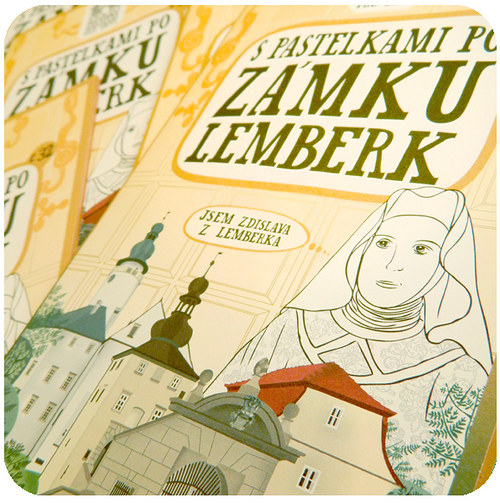 S pastelkami po zámku Lemberk