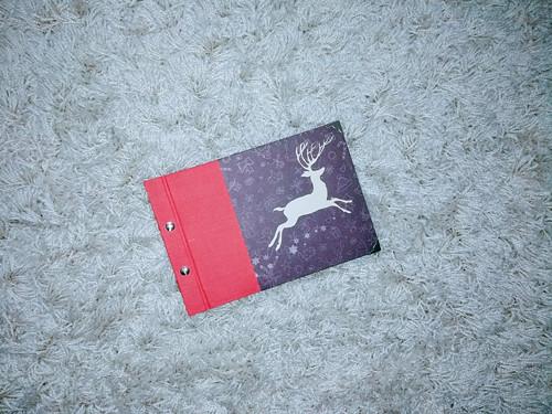 Vánoční album - červené