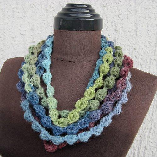 Háčkované perly - Nekonečná šála
