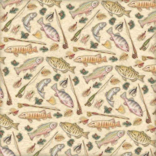 Papír Gone Fishing - kol Great Outdoors