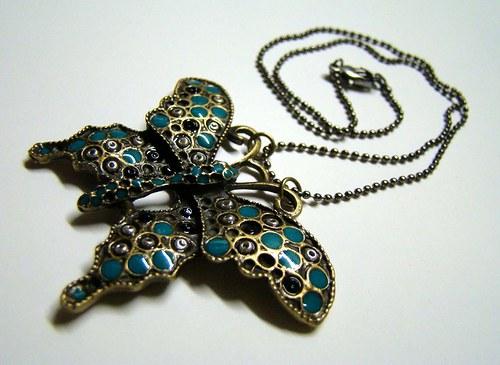 JOYA TURQUESA - vykládaný náhrdelníček