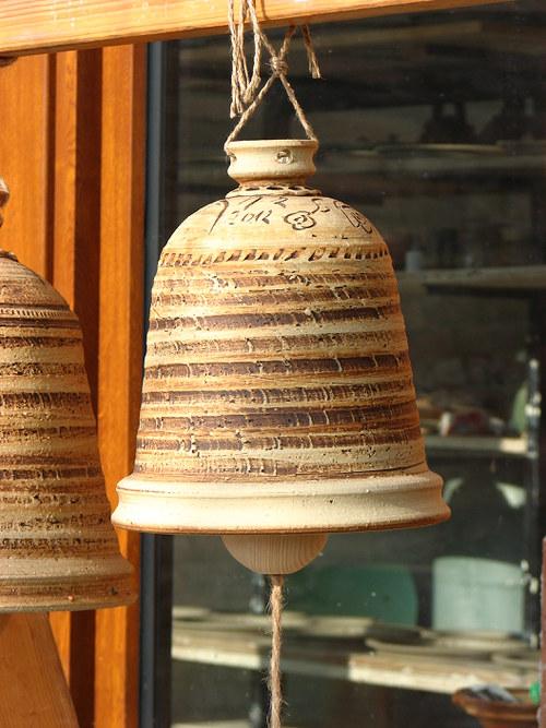 Zvon kameninový malinký (cca 17cm)