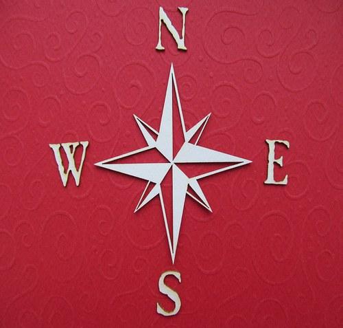 Hvězdice se světovými stranami - menší