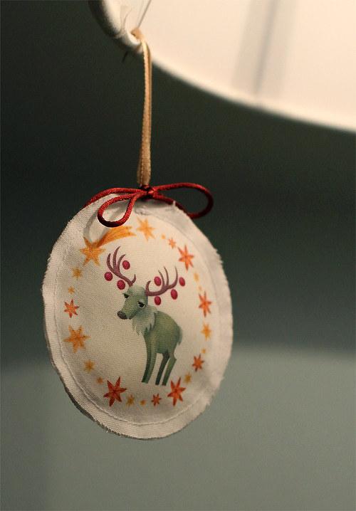Vánoční ozdoby - nažehlovačky