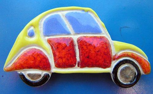 Auto KACHNA - Citroen žlutooranžový