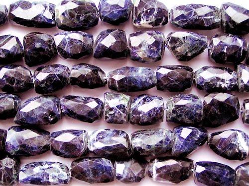 Sodalit - broušené kameny