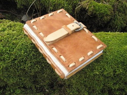 Kožený deníček..pro elfku :-)