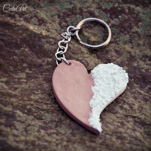 Srdce - klúčenka s logom