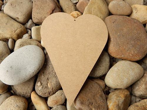 Srdce MDf II  25 cm