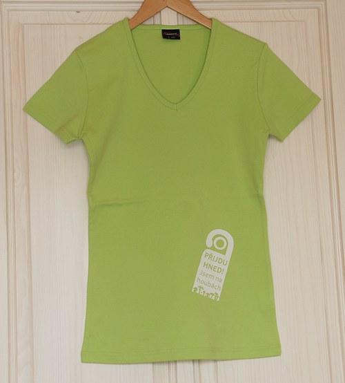 Jsem na houbách - těhotenské tričko ZL/S
