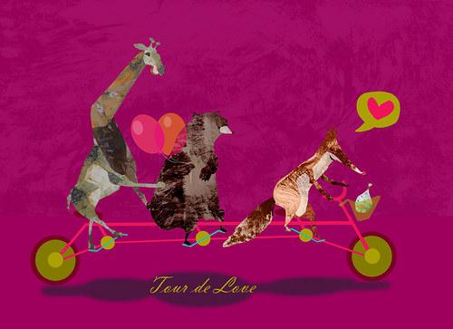 Tour de Love pink