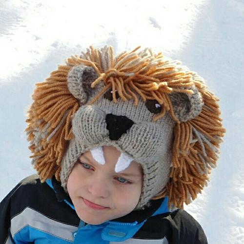 Dětská zimní kukla Lev