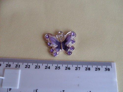Fialový motýl - 35mm
