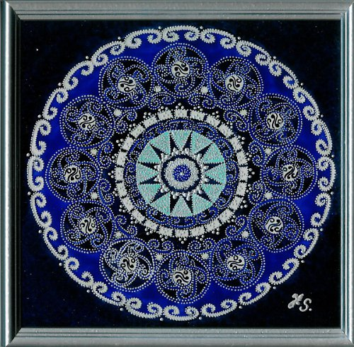 Mandala Hvězda