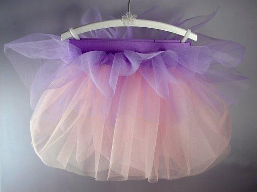 Baletní sukně fialovo-růžová (6-10 let)