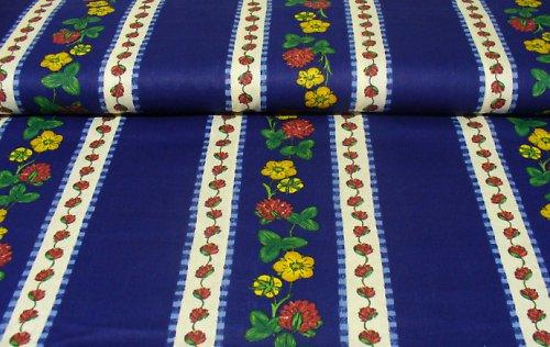 100% bavlna - prúžok / kvetinka