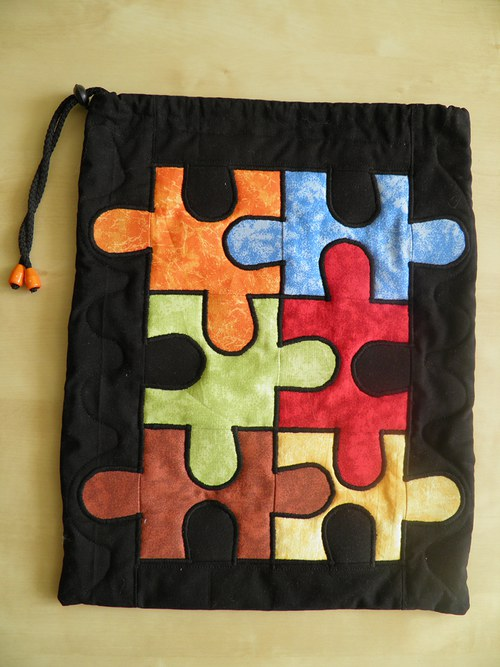 Puzzle Pytlík Mramorový