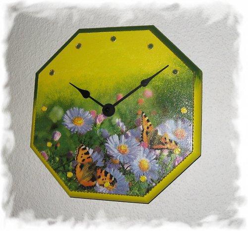 motýli na květech