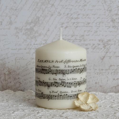Notová svíčka malá I.