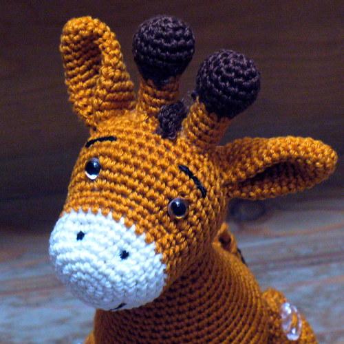Oranžová - žirafa