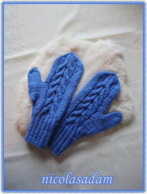 Palčáky jasně modré