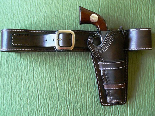 holster - Old West - mexický typ