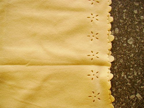 SLEVA kupon 120x120cm fleece vanilkový