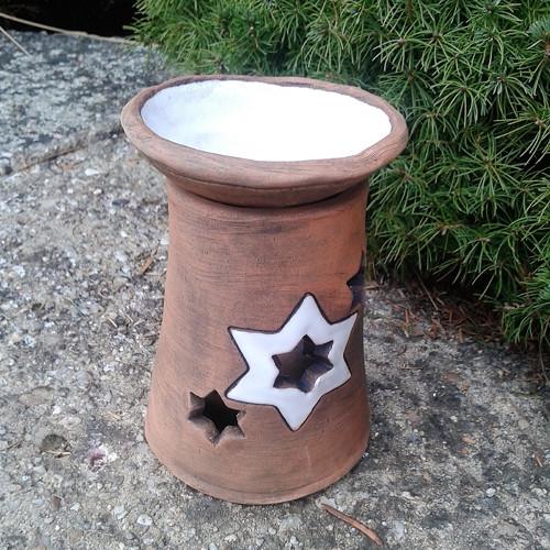 Aroma lampa tmavá-hvězdička