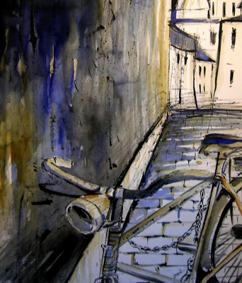 Akvarel, Olomouc sv. Michal /  Pro ženy kolo