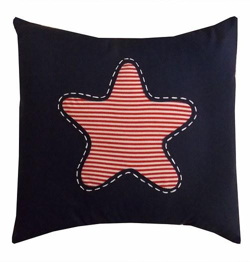 Polštář s hvězdicí