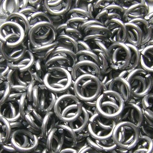 hliníkové kroužky vel. 6,58/1.6 100ks