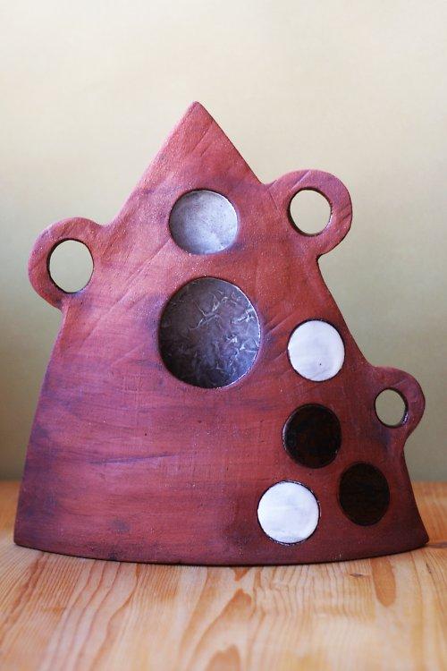 Ufonská keramická váza