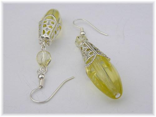Žluté krystalky