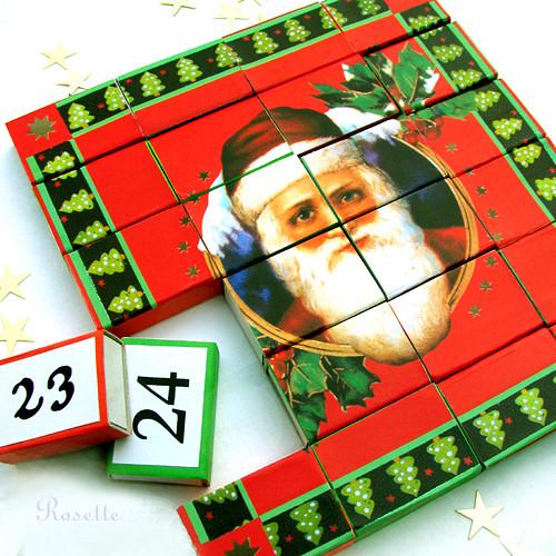 Komu ještě dárek? - obrázek pro výrobu puzzle