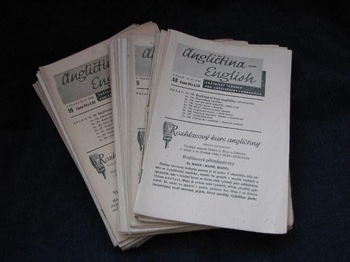 Rozhlasový kurz angličtiny 1945-1946